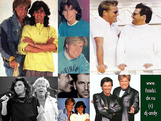 MODERN TALKING COLLAGE by dj-andy